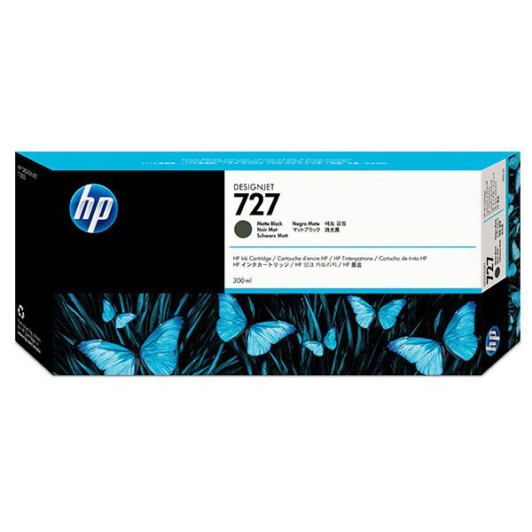 HP 727-300ml DesignJet Ink Cartridge (C1Q12A) - Matte Black