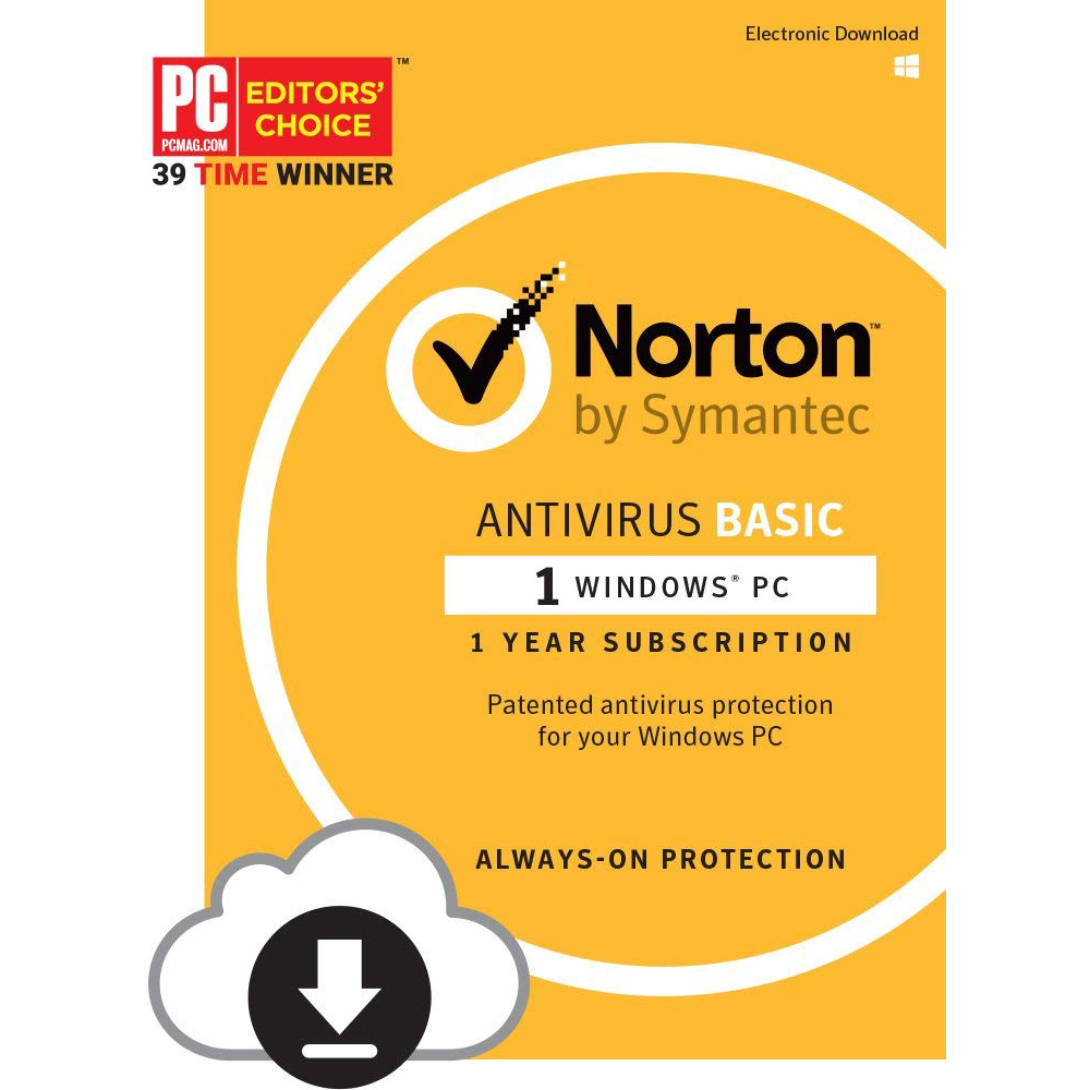 Norton AntiVirus Basic for 1 User & 1-Year Subscription PC/Mac/iOS/Android (pc)