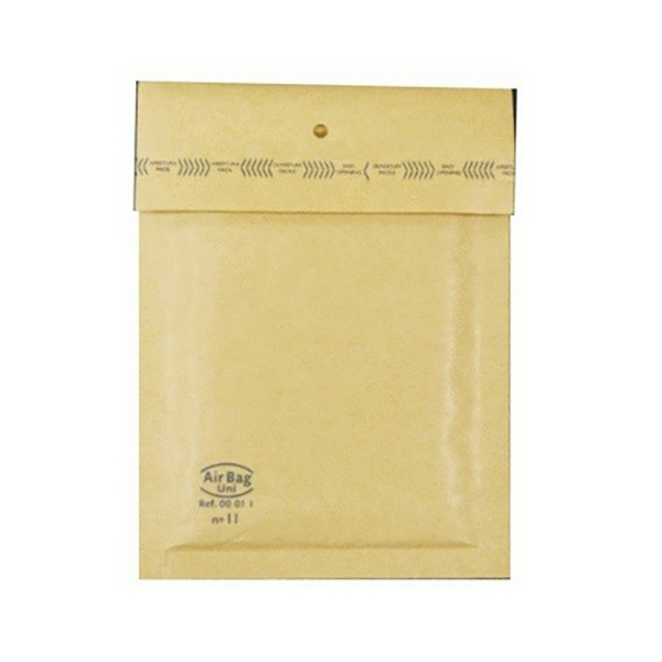 FIS Bubble Envelope 13.7 x 18.5in - Brown (pc)