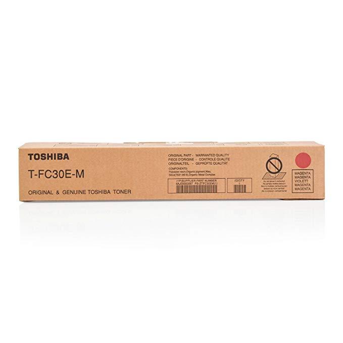 Toshiba T-FC30E-M Toner Cartridge - Magenta
