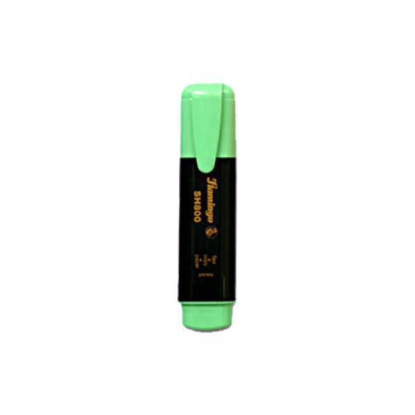 Flamingo Highlighter - Green (pkt/10pcs)