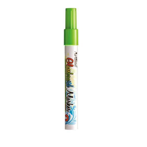Artline ARMKEPG-4FGR Fluorescent Bullet Glassboard Marker 2.0 mm - Green (pkt/12pcs)