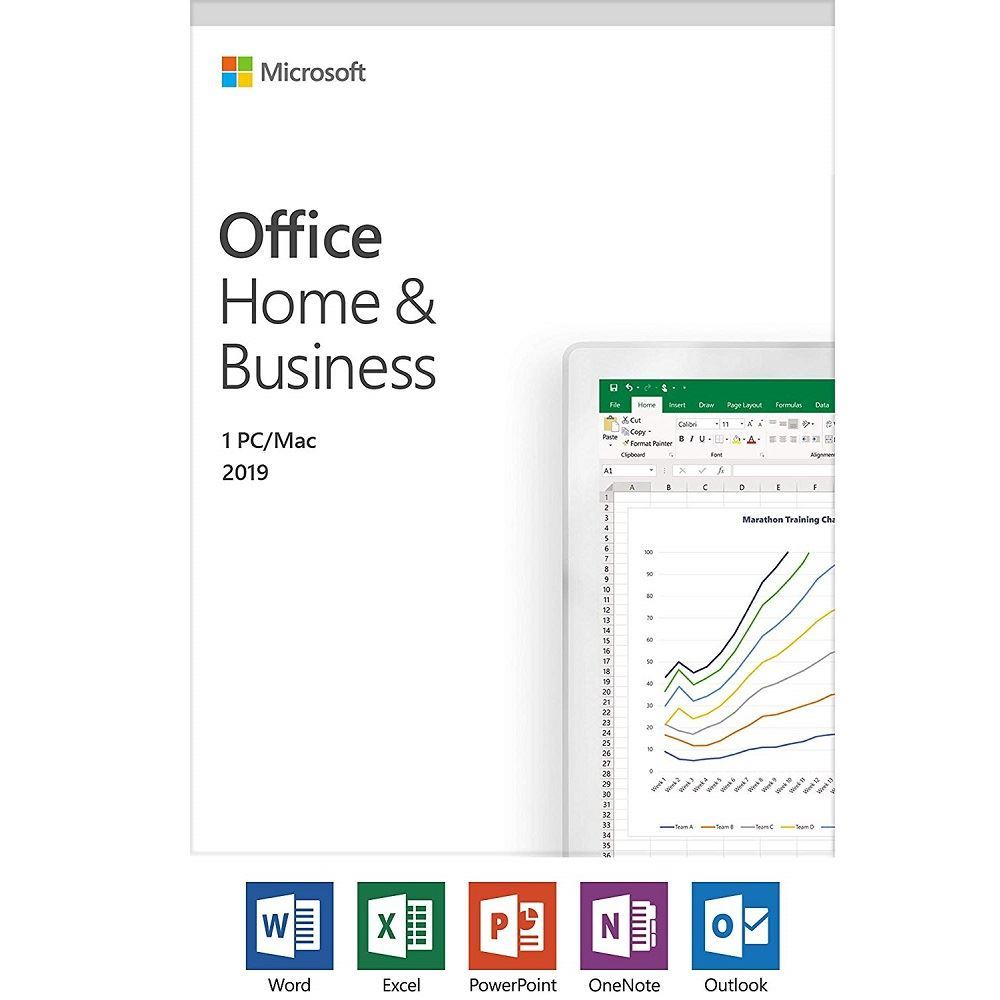 Microsoft Office Home & Business 2019 (PC & Mac)