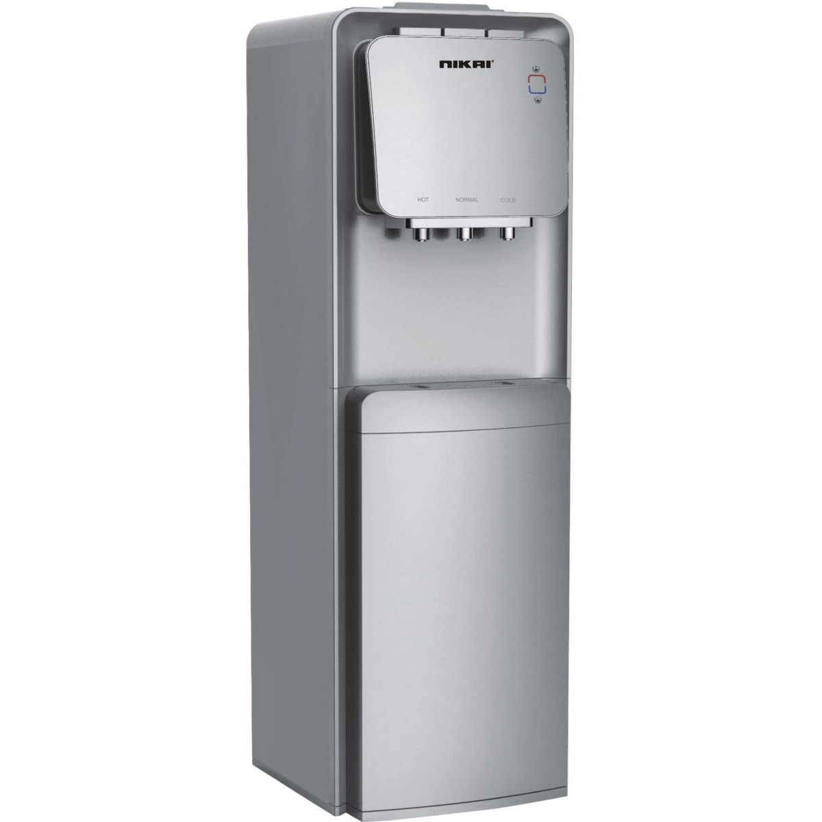 Nikai Water Dispenser with Refrigerator Premium Series NWD1300RS - Silver
