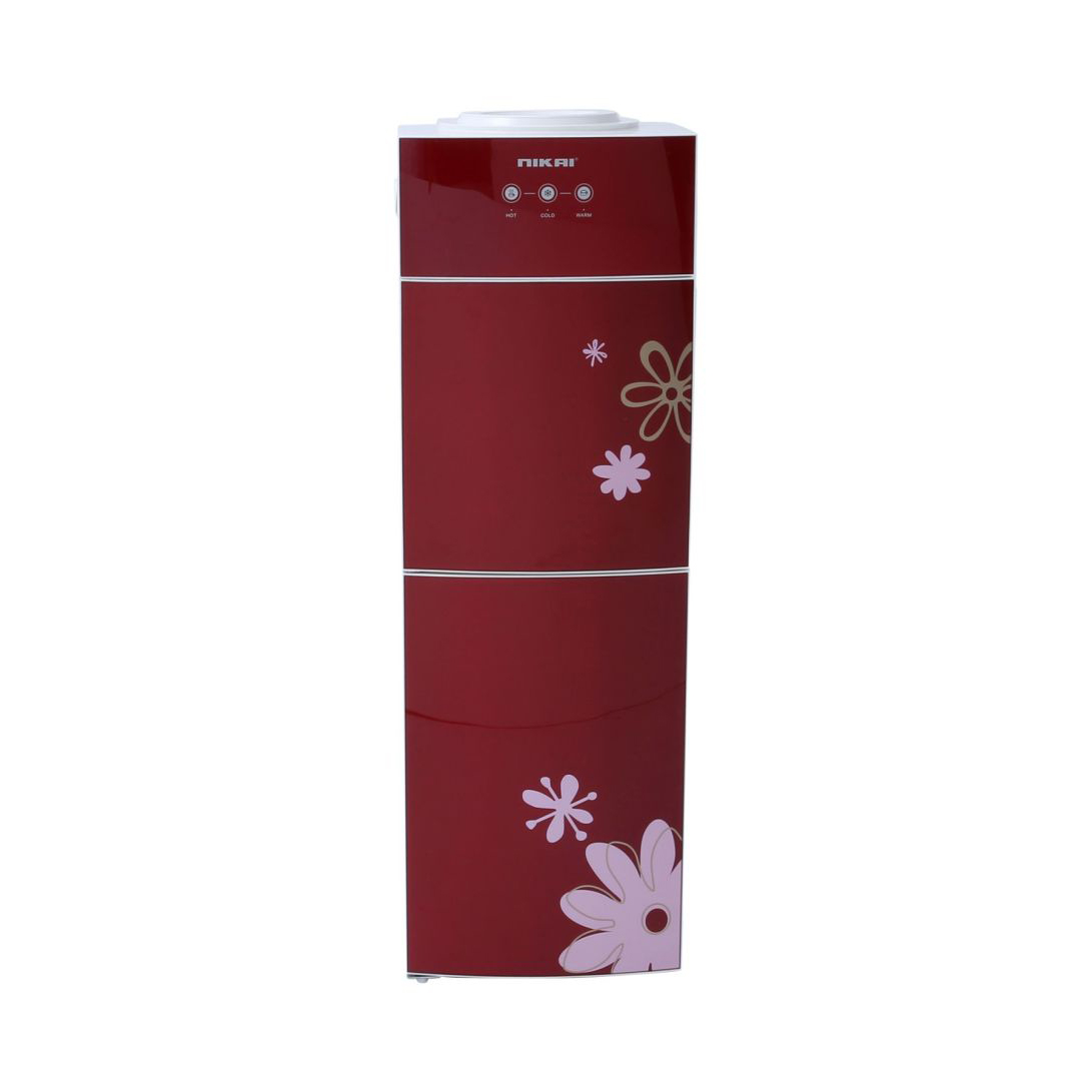 Nikai Top Load Water Dispenser Free Standing Stainless Steel - NWD1508C