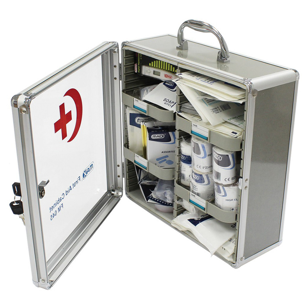Max FM045 First Aid Cabinet