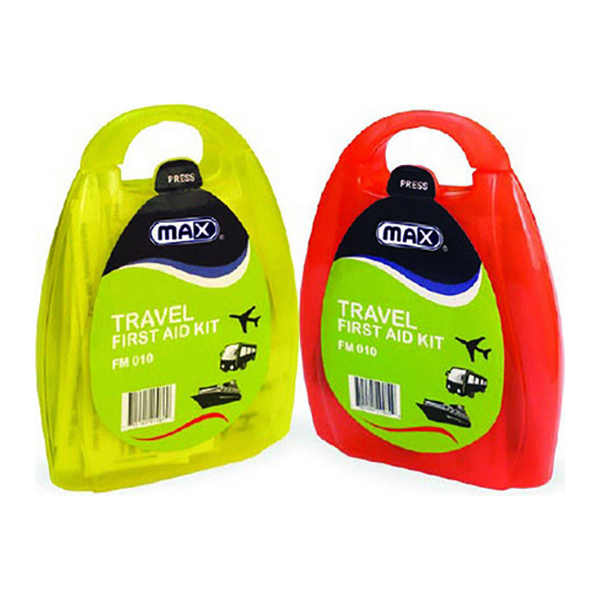 Max FM010 Travel First Aid Kit