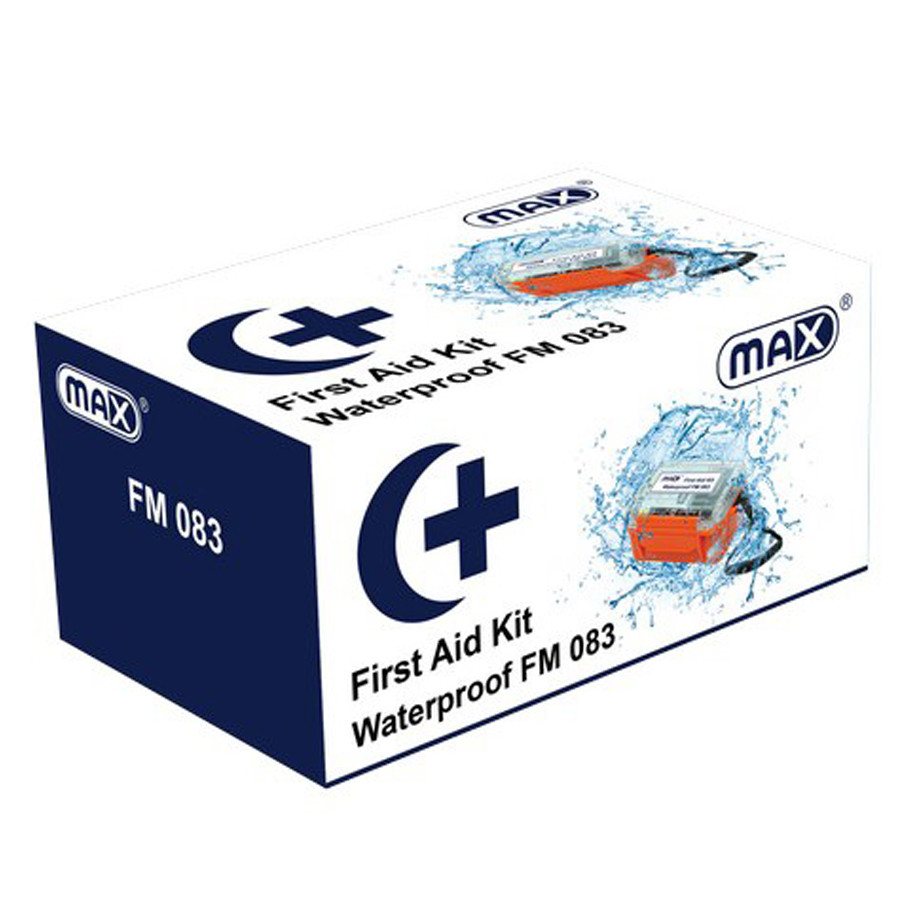 Max FM083 Waterproof First Aid Kit