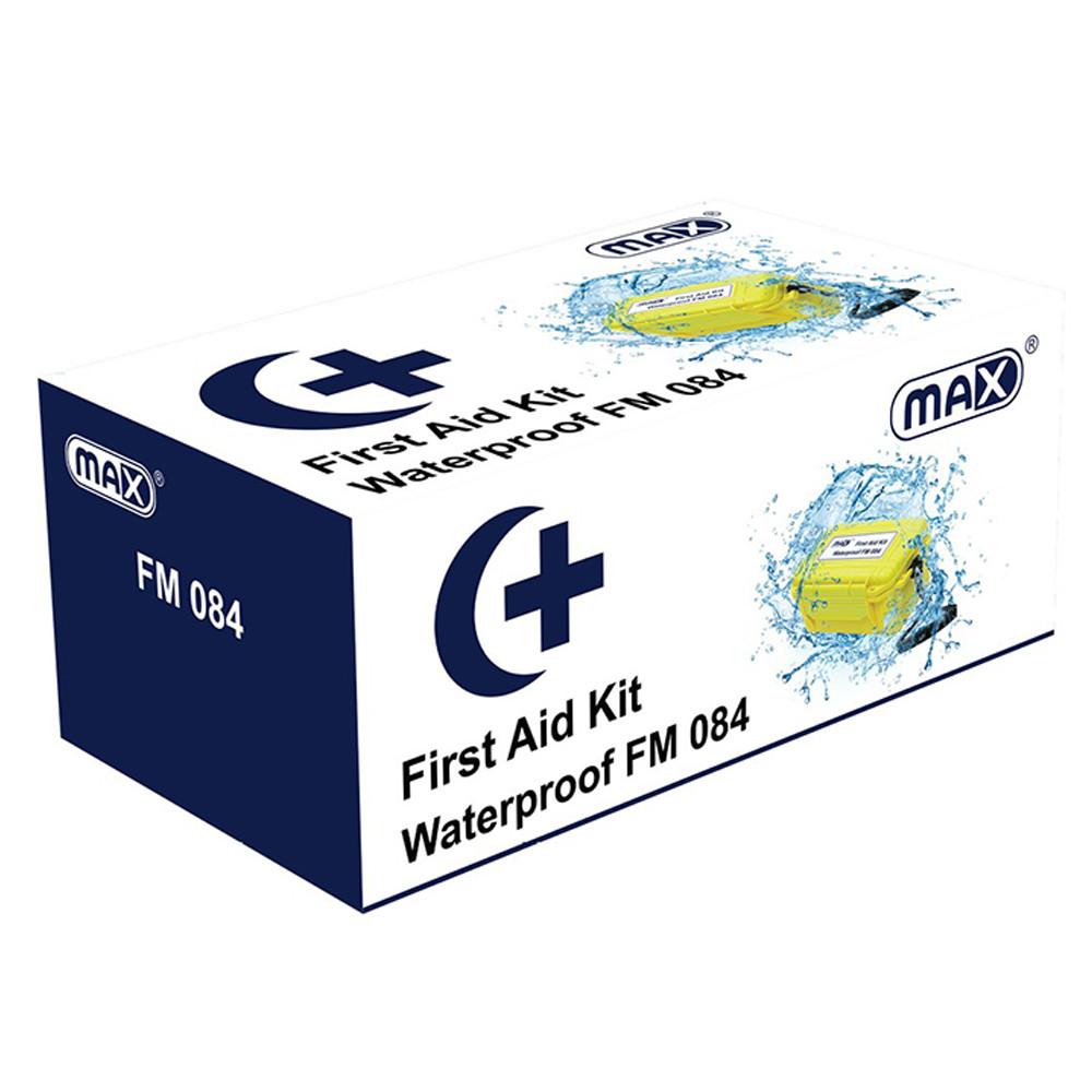 Max FM084 Waterproof First Aid Kit