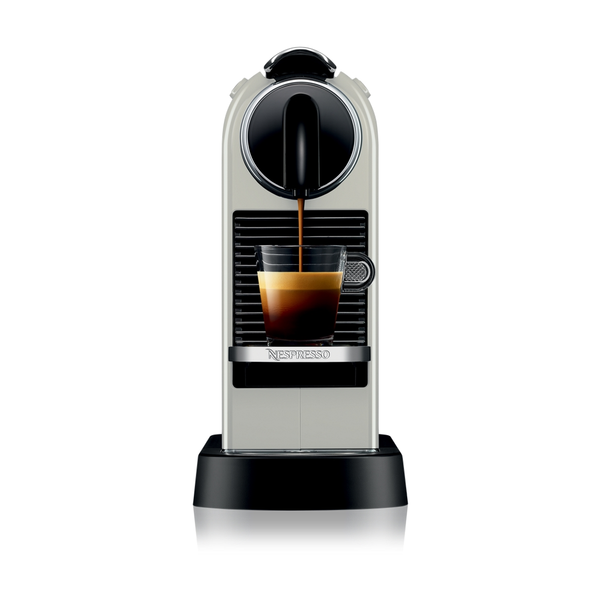 Buy Nespresso CitiZ Coffee Machine - White Online @ AED0 ...