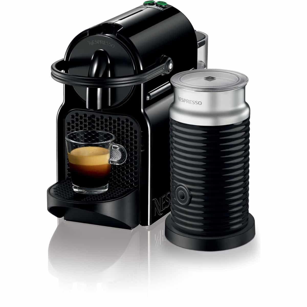 Nespresso Inissia Bundle Coffee Machine - Black