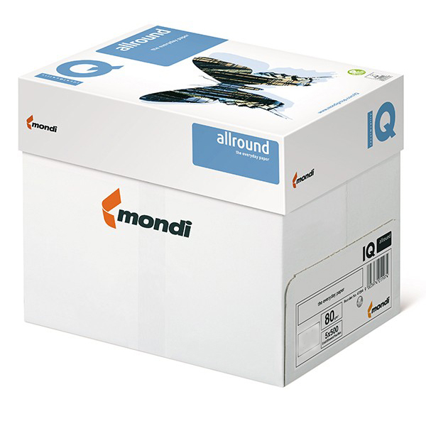 Mondi IQ Photocopy Paper 80gsm - A3 (Box/5ream)