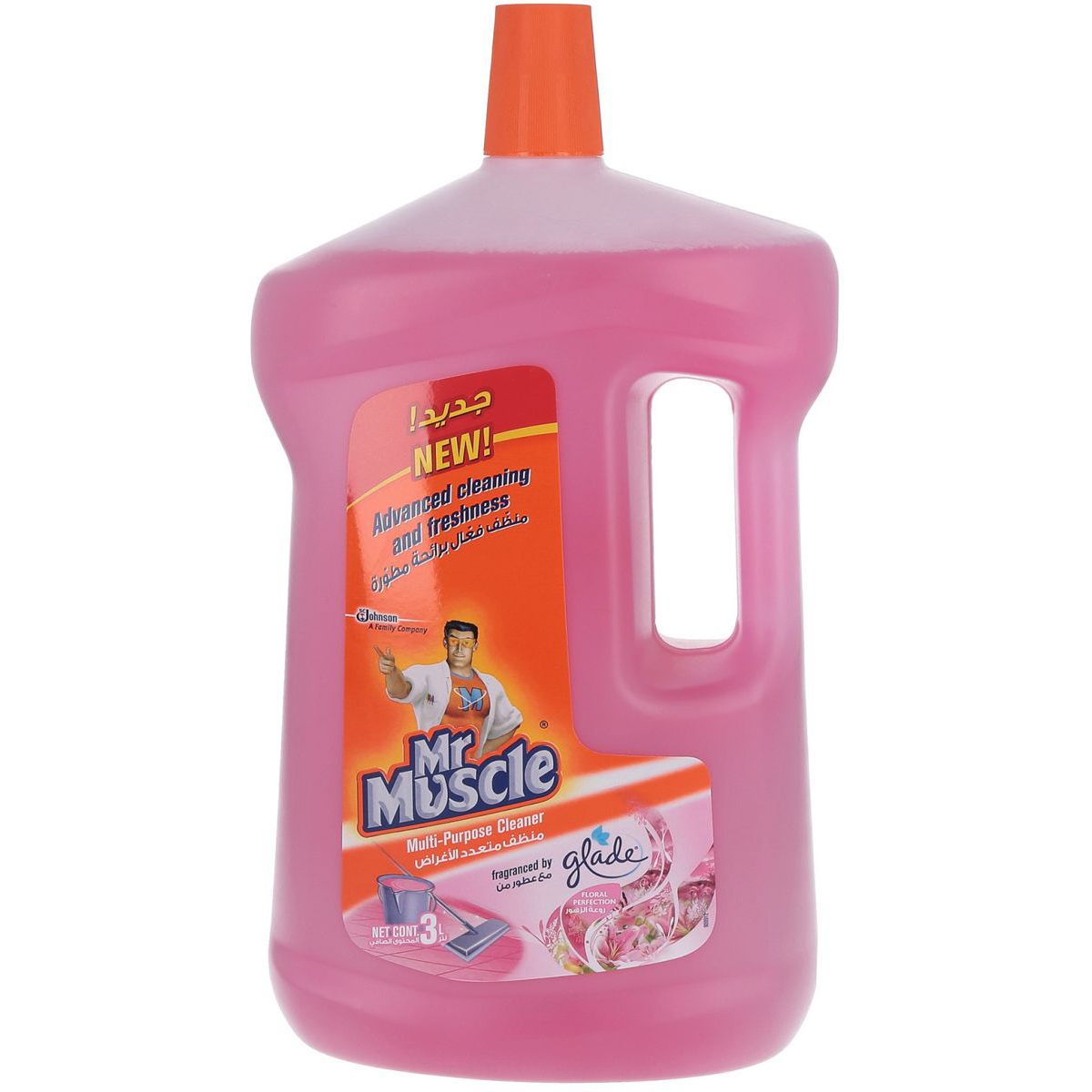 Mr. Muscle All-Purpose Cleaner Floral Perfection - 3L (pc)
