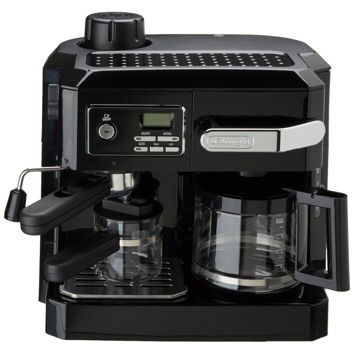 De'Longhi BCO320 Combi Coffee Machine - Black