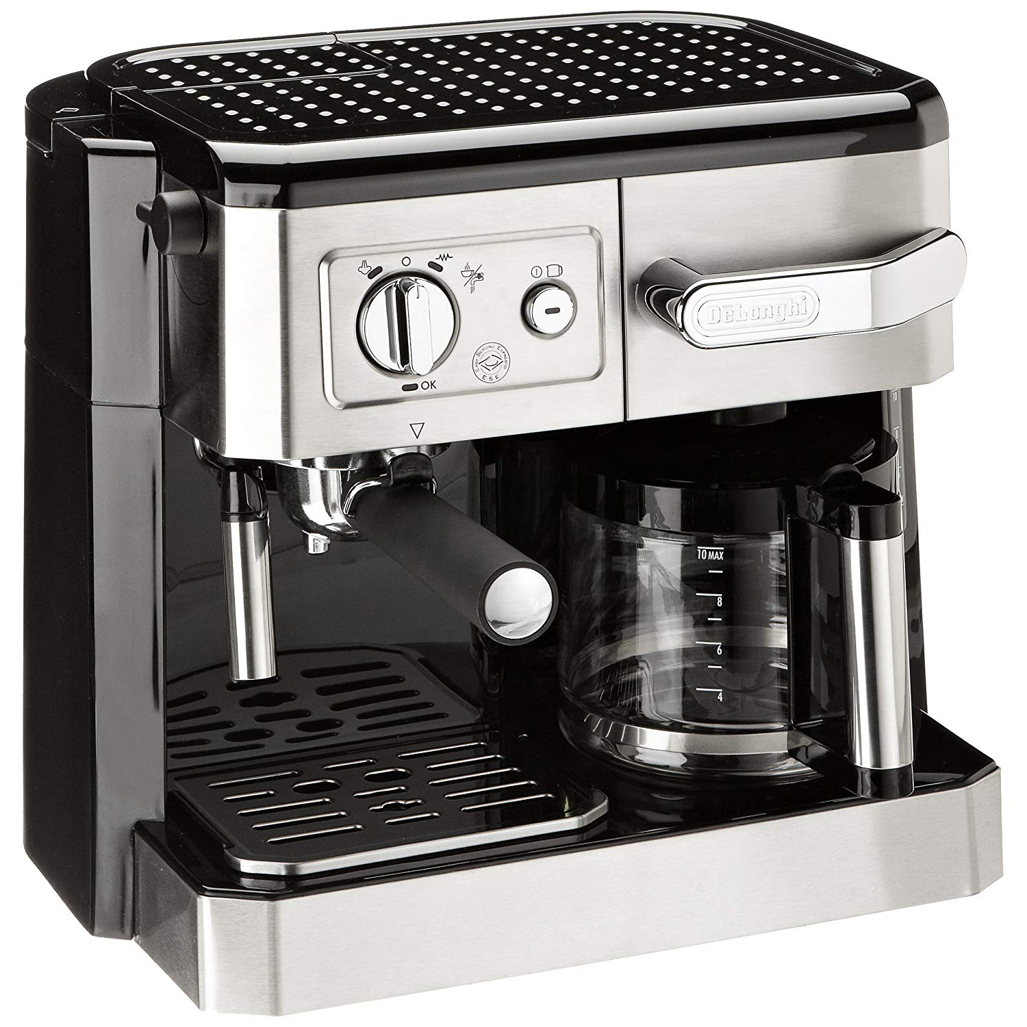 De'Longhi BCO420 Combi Coffee Machine - Silver