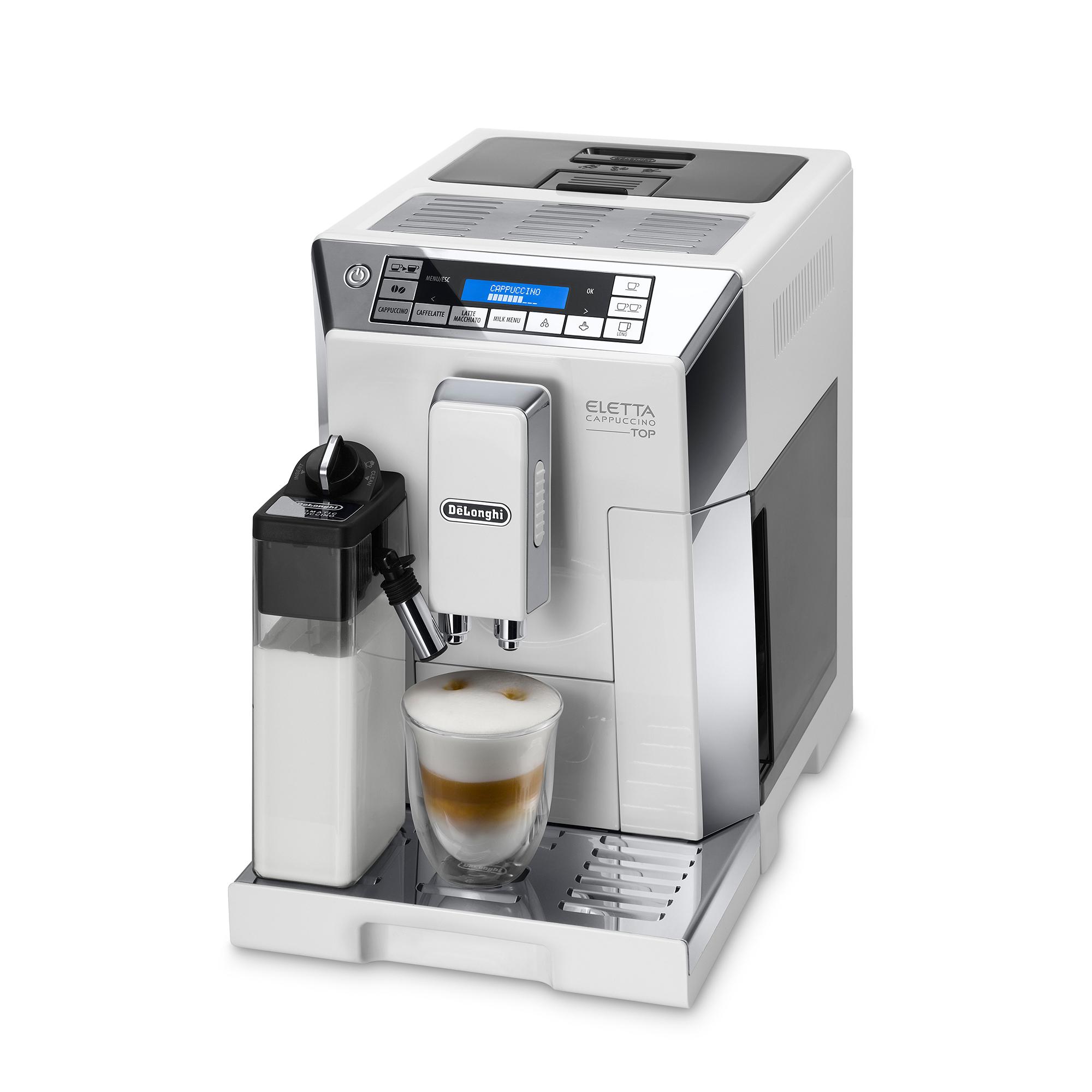De'Longhi Eletta Cappuccino Top Cream Coffee Machine ECAM45.760.W - White