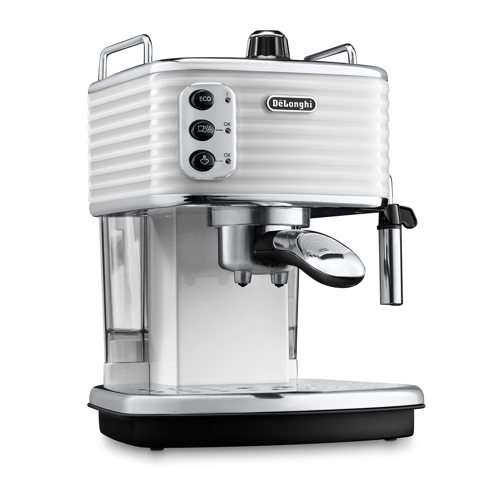 De'Longhi Scultura Pump Coffee Machine ECZ351.W - White