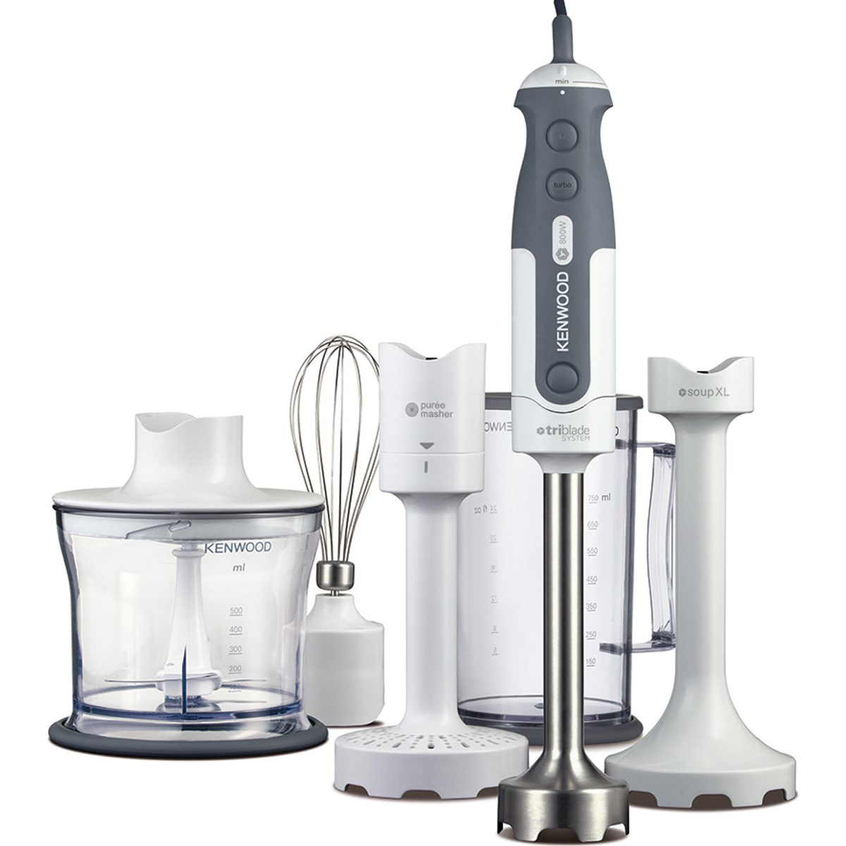 Kenwood HDP406WH Triblade Hand Blender - White