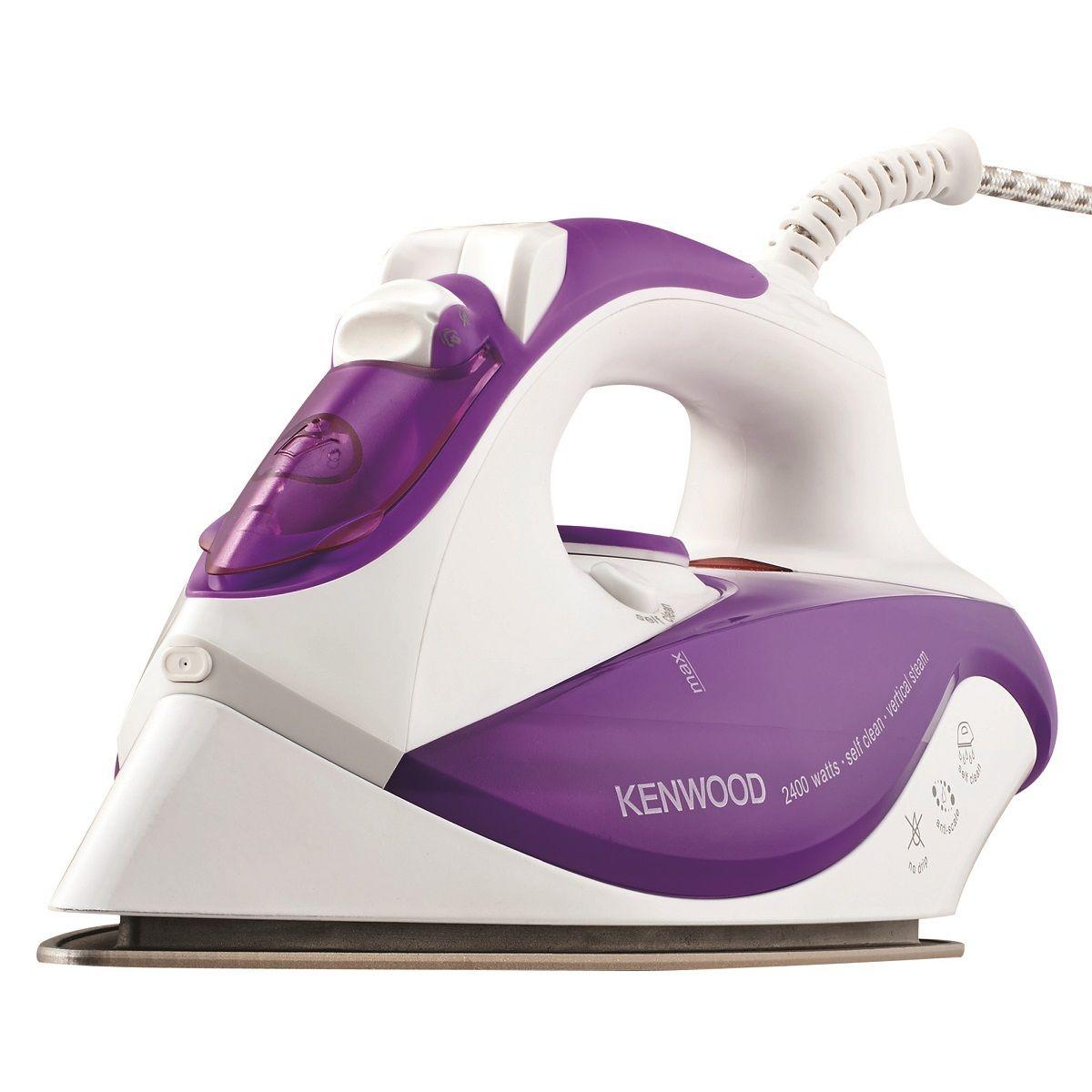 Kenwood ISP201PU Steam Iron - Purple