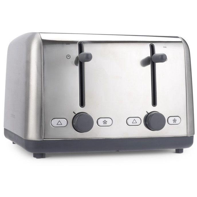 Kenwood TTM480 Scene 4 Slot Toaster - Grey