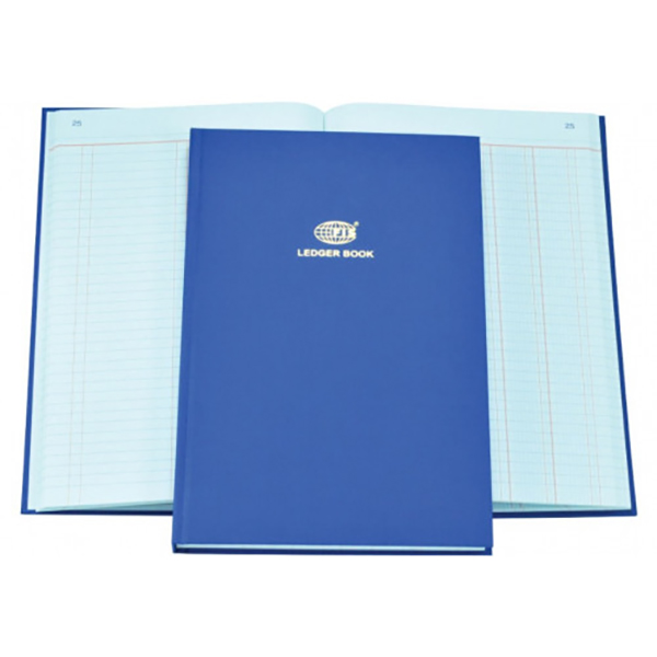 FIS Ledger Book 2 Columns 3 Digits FS 2Q FSACLDC2Q73 - Blue (pc)