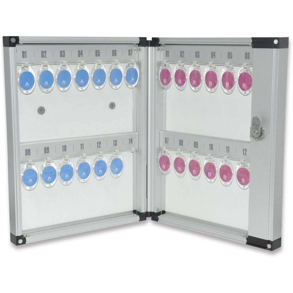 FIS FSKCW-A1026 Aluminium Key Box - 26-key Capacity (pc)