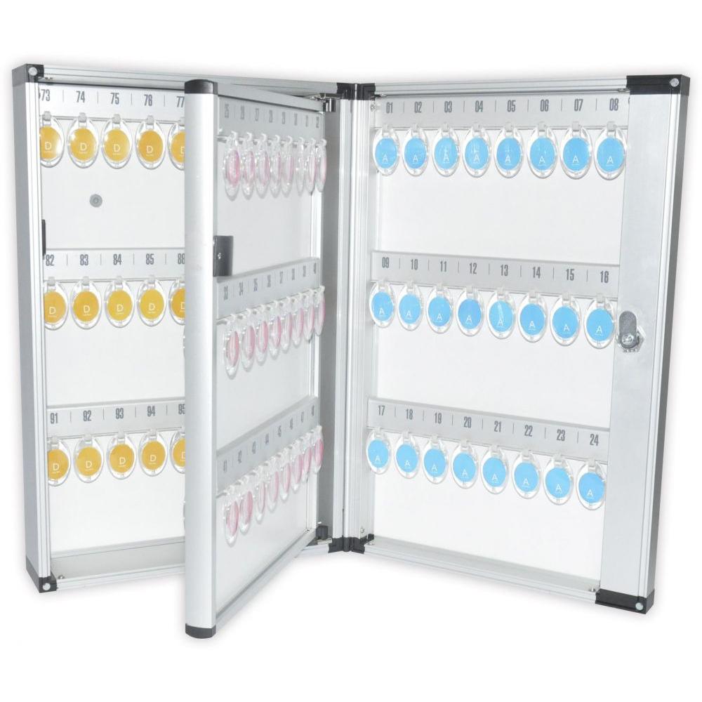 FIS FSKCW-A1099 Aluminium Key Box - 99-key Capacity (pc)