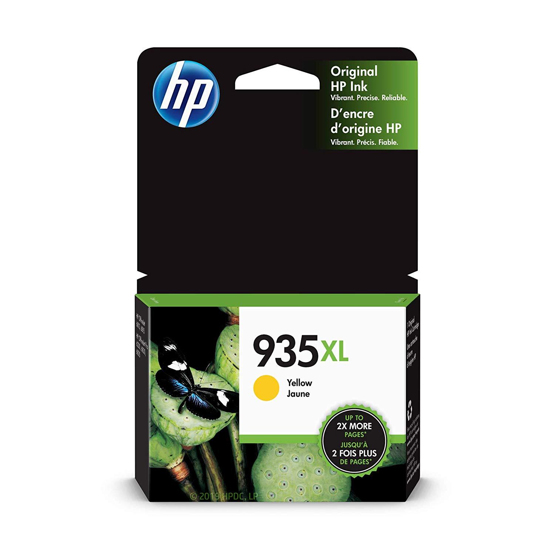 HP 935XL High Yield Ink Cartridge - Yellow