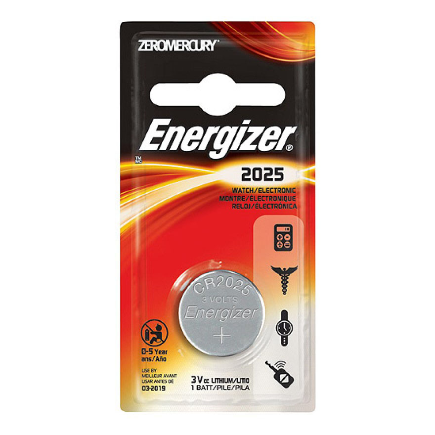 Energizer CR2025 Lithium Battery (pc)