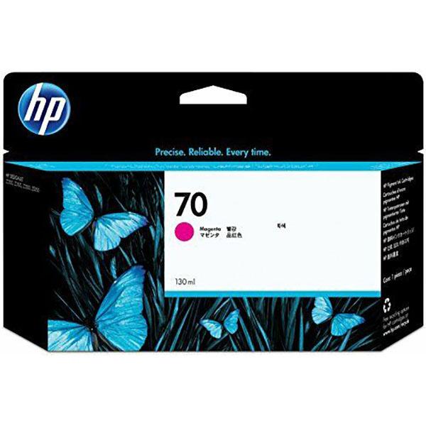 HP 70 Ink Cartridge 130ml (C9453A) - Magenta