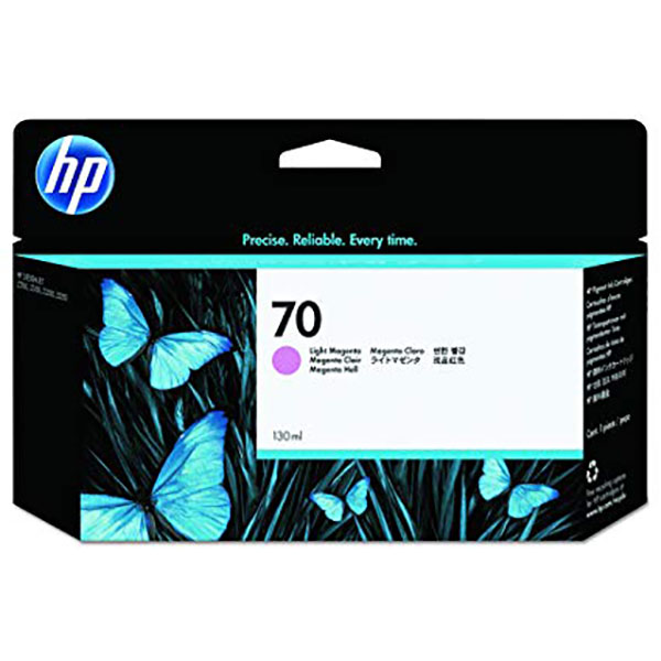 HP 70 Ink Cartridge 130ml (C9455A) - Light Magenta