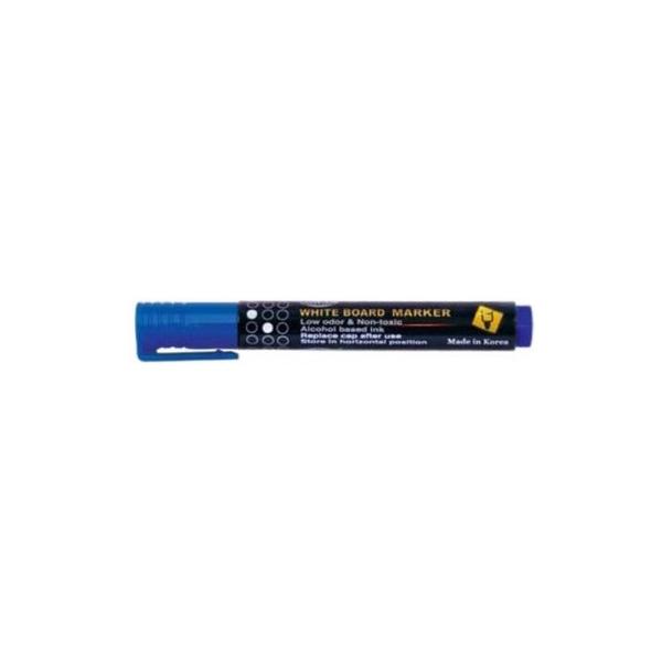 FIS FSMKWF04BL Whiteboard Marker Bullet Tip - Blue (pc)