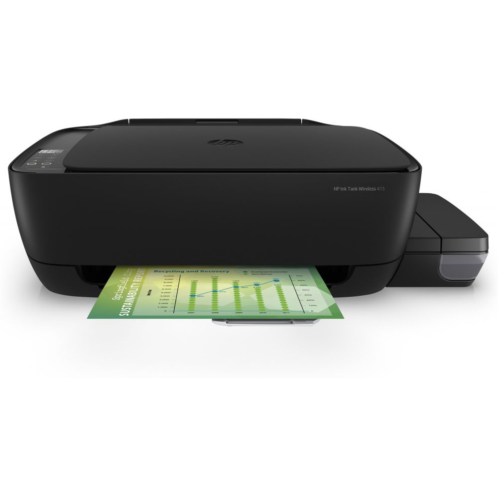 HP 415 Ink Tank Wireless Printer (Z4B53A) - Black