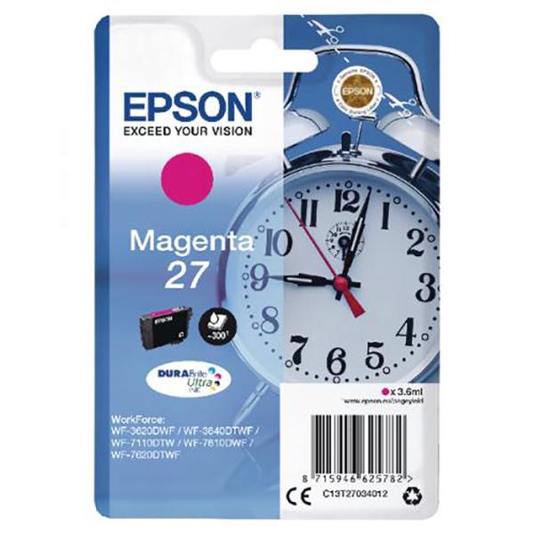 Epson 27 Ink Cartridge (T2703) - Magenta