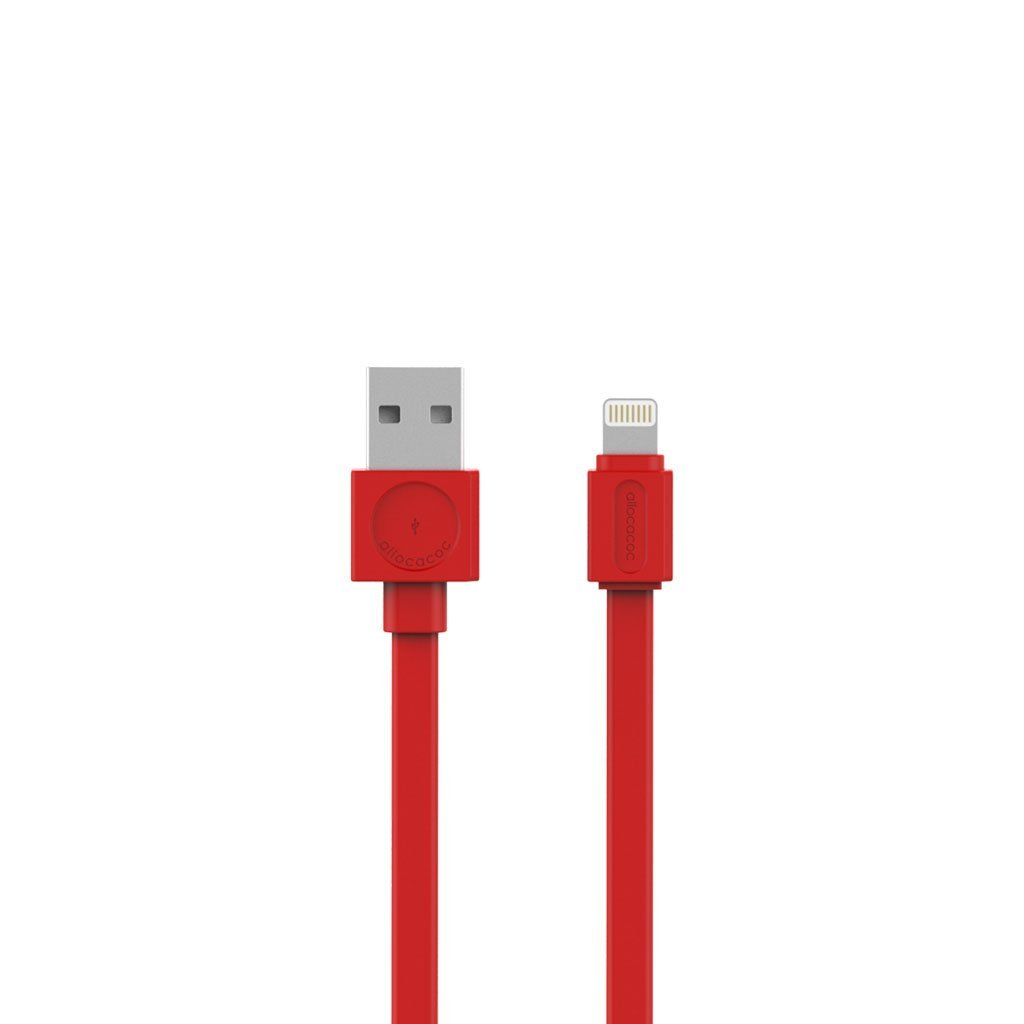 Allocacoc 10451RD USB Cable Lightning Basic - Red (pc)