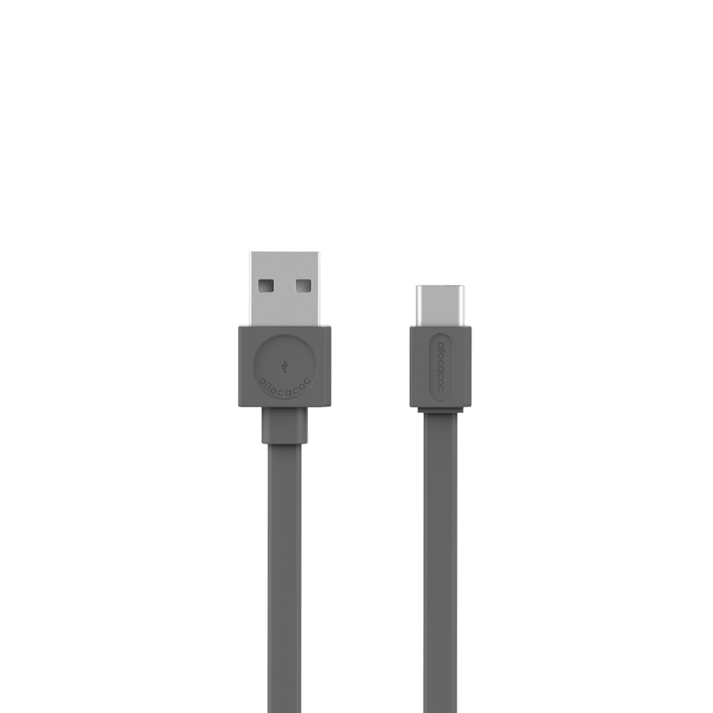 Allocacoc 10453GY USB Cable to USB-C Basic - Grey (pc)