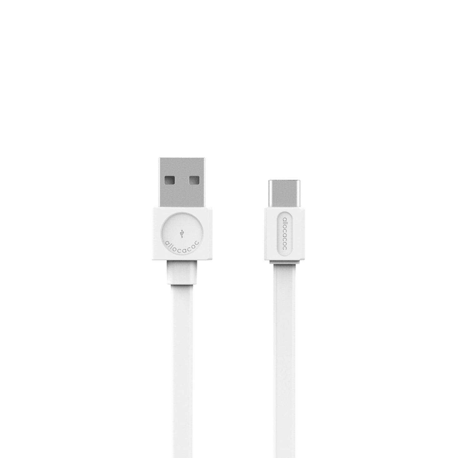 Allocacoc 10453WT USB Cable to USB-C Basic - White (pc)