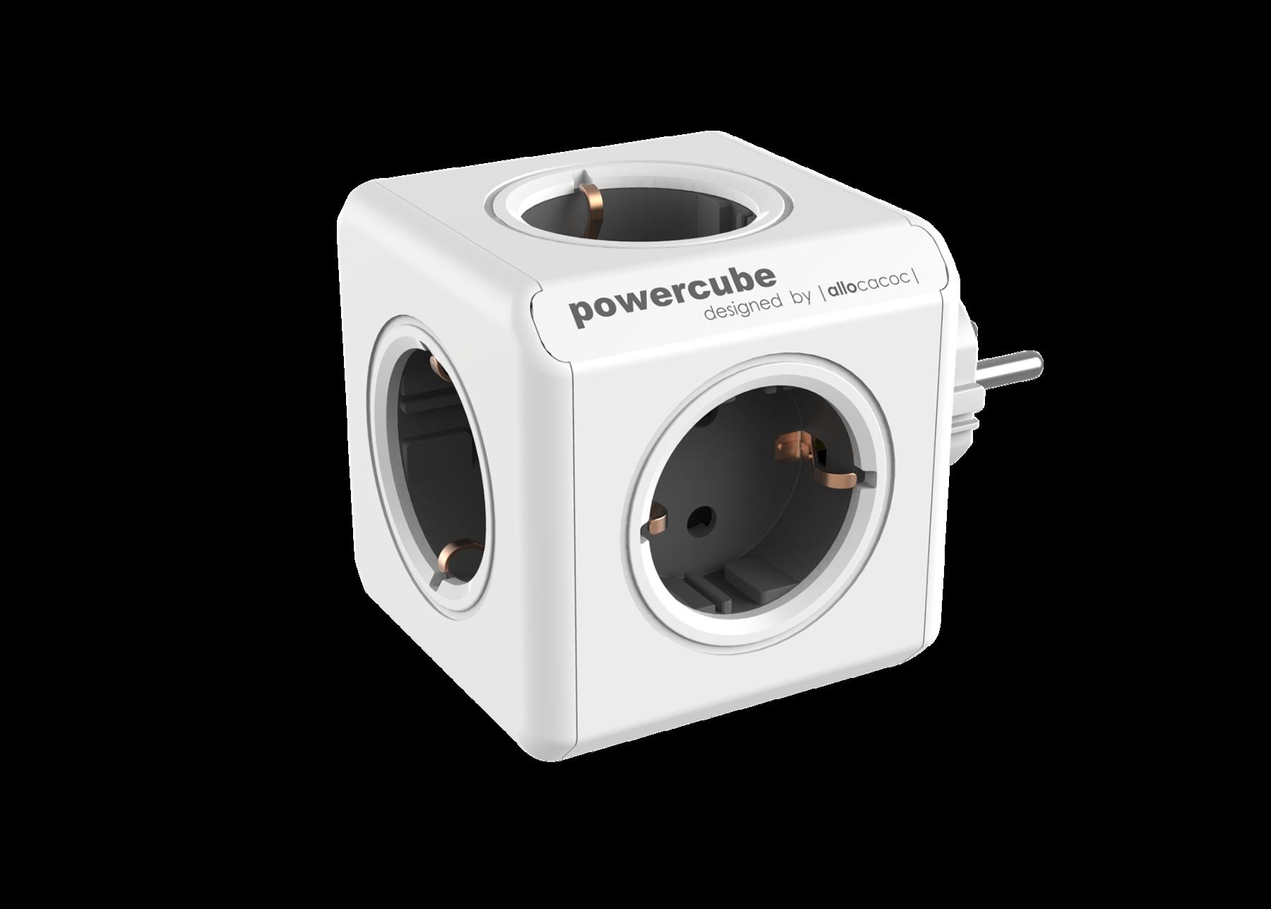 Allocacoc 7100GY PowerCube Original UK - Grey (pc)