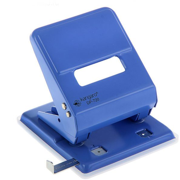 Kangaro DP-720 2-Hole Puncher 36-sheets capacity - Blue (pc)