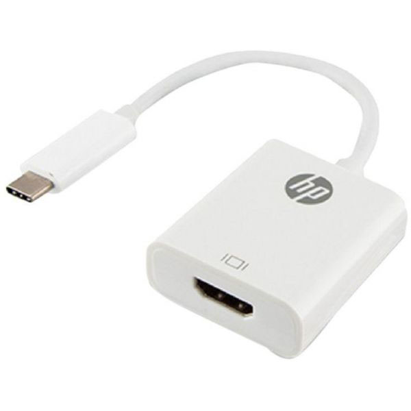 HP 55705 USB-C to HDMI Adapter (HP038GBWHT0TW) - White (pc)