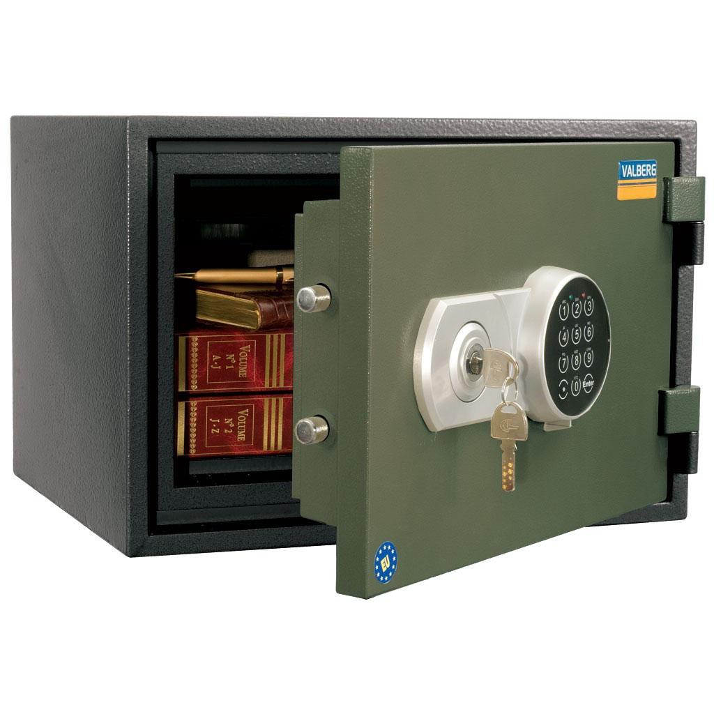 Valberg FRS-30 EL 1 Digital + 1 Keylock Fire Resistant Safe
