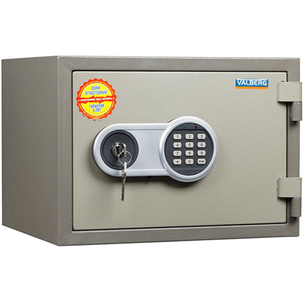 Valberg FRS-36 EL 1 Digital & 1 Keylock Fire Resistant Safe