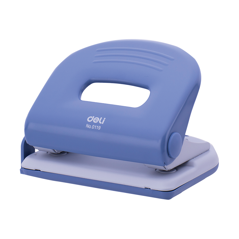 Deli 119 2-Hole Metal Puncher 25-sheets Capacity (pc)