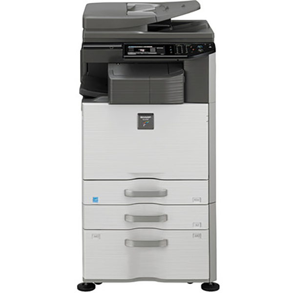 Sharp DX-2500N Multi-functional copier (Color, A3, A4, Print, Copy, Scan, 2 Trays with Stand)