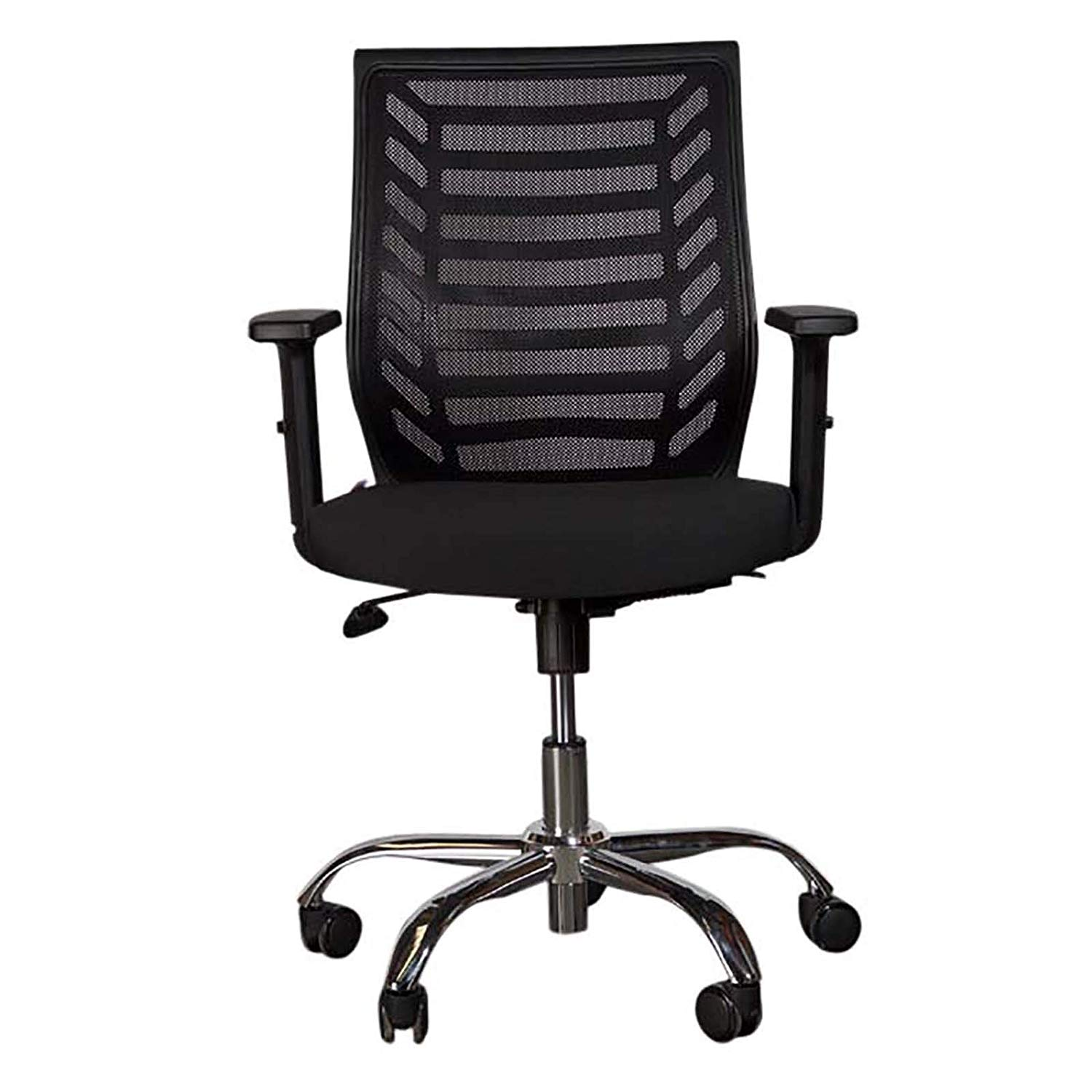 Mahmayi Sleekline 1610 Low Back Mesh Chair - Black (pc)