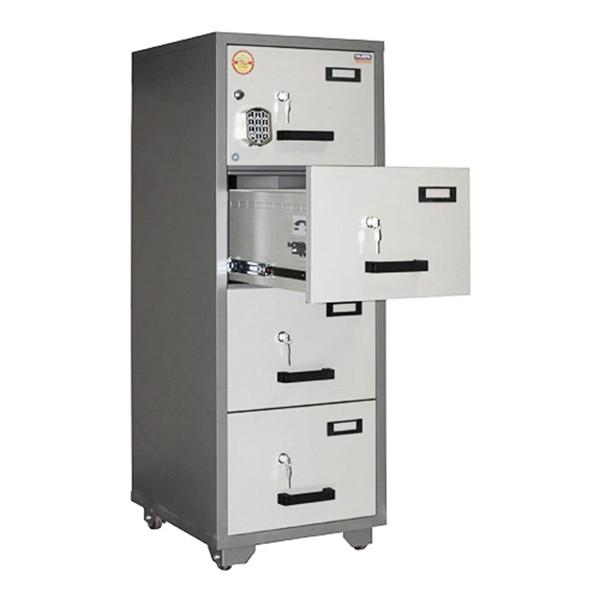 Valberg FC 4E-KK 4-Drawer Fire Resistant Filing Cabinet