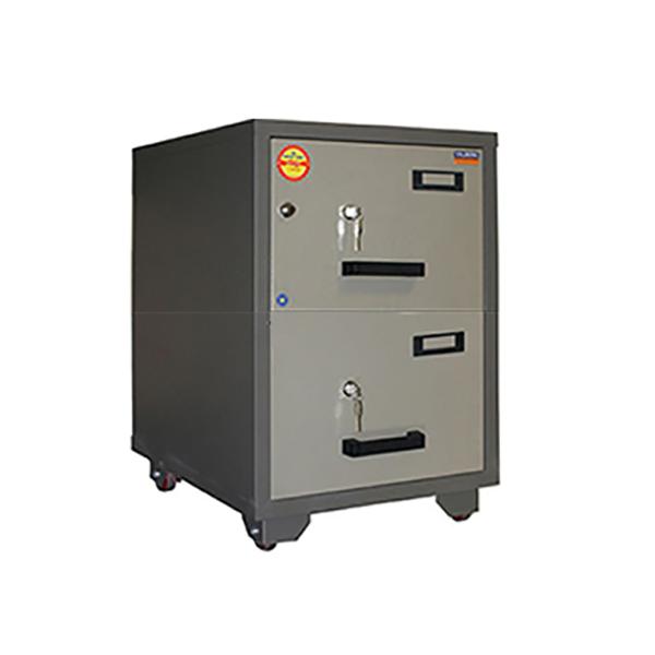 Valberg FC 2K-KK 2-Drawer Fire Resistant Filing Cabinet