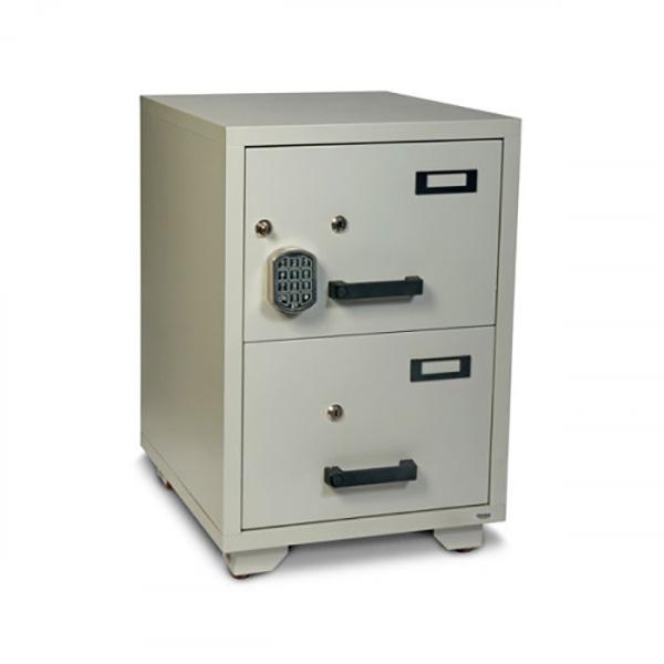 Valberg FC 2E-KK 2-Drawer Fire Resistant Filing Cabinet