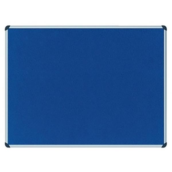 Partner Cork Felt Board 90 x 120cm - Blue (pc)