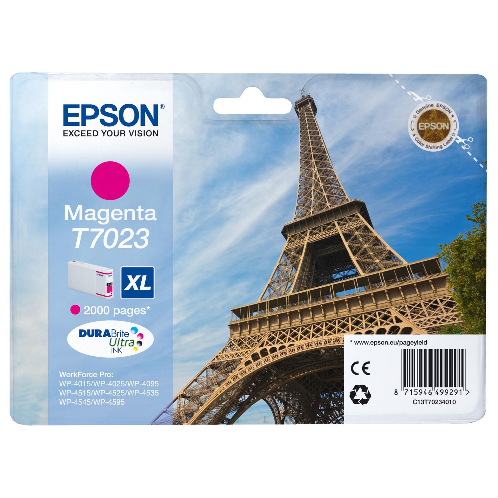Epson T7023 XL Ink Cartridge - Magenta